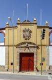 Tjurfäktningsarenan av Soria Spain Arkivbild