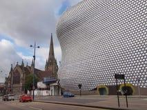 Tjurfäktningsarenashopping och fritidkomplex i Birmingham Royaltyfri Foto