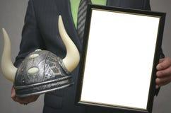 Tjurmaterielmäklare Diplommall av den bästa spelaren för att lyfta aktiekurser på utbytet Royaltyfria Bilder