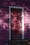 tjusad dörröppning Arkivbilder