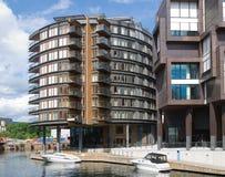 Tjuvholmen i Oslo, Norge Fotografering för Bildbyråer