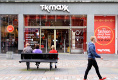 TK Maxx Stock Image