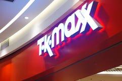 TK Maxx logo Stock Image