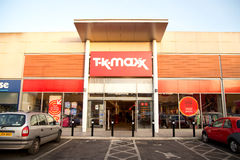 TK maxx Stock Photography