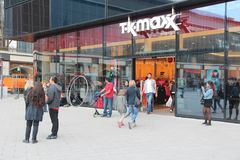 TK Maxx store Stock Images