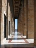 Anıtkabir (Mausoleum of Ataturk). Colonnade at Mausoleum of Ataturk in Ankara, Turkey Stock Photos