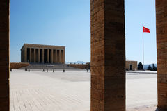 Anıtkabir (Mausoleum of Ataturk) Royalty Free Stock Images
