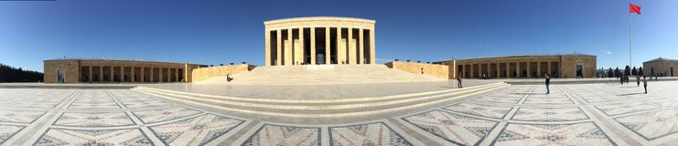Anıtkabir. Is the mausoleum of Mustafa Kemal Atatürk Royalty Free Stock Photography
