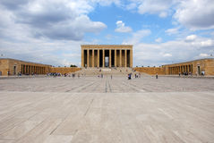 An?tkabir (Mausoleum van Ataturk) Stock Fotografie