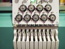 Tkactwo maszyna Fotografia Royalty Free