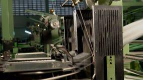 Tkactwo maszyny zbiory wideo