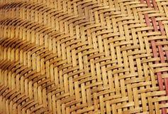 Tkactwo od bambusa Obrazy Royalty Free