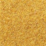 Tkana żółta dywanowa tekstura Zdjęcie Stock