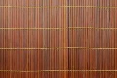 Tkana bambusowa czerwień Obrazy Royalty Free