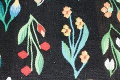 Tkana dywanowa tekstura Obraz Royalty Free