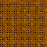 Tkanego rattan tekstury łozinowy bezszwowy deseniowy tło - ciemnego brązu kolor Obraz Royalty Free