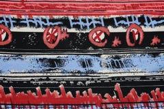 tkanina abstrakcjonistyczny jedwab Zdjęcia Royalty Free