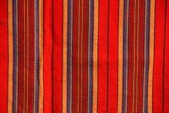 Tkanina afrykanina Masai Obrazy Stock