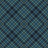 Tkanina diagonalny tartan, deseniowa tkanina, w kratkę ilustracja wektor