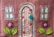 Tkanina domu szczegółu tekstura Zdjęcia Stock