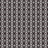 Tkanina druk Geometryczny wzór w powtórce Bezszwowy tło, mozaika ornament, etniczny styl Obraz Stock