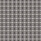 Tkanina druk Geometryczny wzór w powtórce Bezszwowy tło, mozaika ornament, etniczny styl Obraz Royalty Free