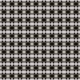 Tkanina druk Geometryczny wzór w powtórce Bezszwowy tło, mozaika ornament, etniczny styl Zdjęcia Royalty Free