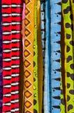 tkanina kolorowi węże Obraz Royalty Free