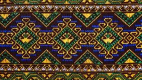 Tkanina koloru tkaniny barwideł tkanin kolorów Antykwarskich handwoven naturalnych pięknych pięknych tkanin mody tkanin stary jed Fotografia Royalty Free
