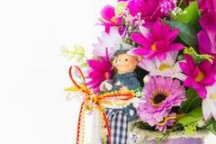 Tkanina kwiaty Zdjęcie Royalty Free