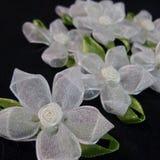 Tkanina kwiaty Obraz Stock