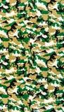 Tkanina na militarnym kamuflażu obrazy stock