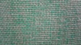 Tkanina wykłada teksturę, szczegółowy zbliżenie bawełnianej tkaniny tekstura zdjęcie wideo
