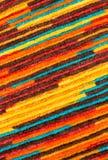 Tkanina z kolorowym wzorem, tłem i teksturą, Zdjęcie Royalty Free