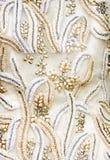 tkaniny antyczny ślub Zdjęcie Royalty Free