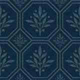 Tkaniny bezszwowa tekstura, geometryczny wzór royalty ilustracja