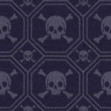 Tkaniny bezszwowa tekstura, geometryczny wzór ilustracja wektor