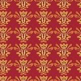 tkaniny bezszwowy deseniowy Obraz Royalty Free