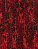 tkaniny czerwień Zdjęcie Royalty Free