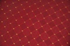 Tkaniny czerwona tekstura Zdjęcie Stock