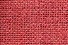 Tkaniny czerwona tekstura Czerwony Sukienny tło Zamyka w górę widoku czerwona tkaniny tekstura, tło i zdjęcie royalty free