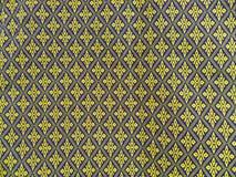 tkaniny deseniują tajlandzkiego Zdjęcia Royalty Free