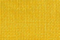 tkaniny kolor żółty Zdjęcie Royalty Free