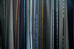 tkaniny kostiumu tekstury rozmaitość Fotografia Royalty Free