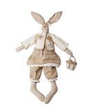 tkaniny królika zabawki Zdjęcia Stock
