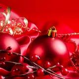 tkaniny nowy czerwony sfer rok Zdjęcie Stock