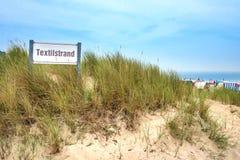Tkaniny plaża zdjęcie royalty free