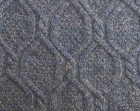 Tkaniny popielata tekstura Fotografia Royalty Free