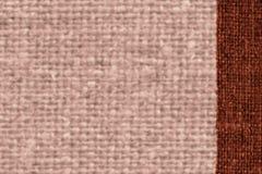 Tkaniny powierzchnia, tkaniny moda, umbry kanwa, ubraniowy materiał, brudny tło Zdjęcie Stock
