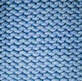 Tkaniny przędzy woolen tekstura tło, craftsmanship obraz stock